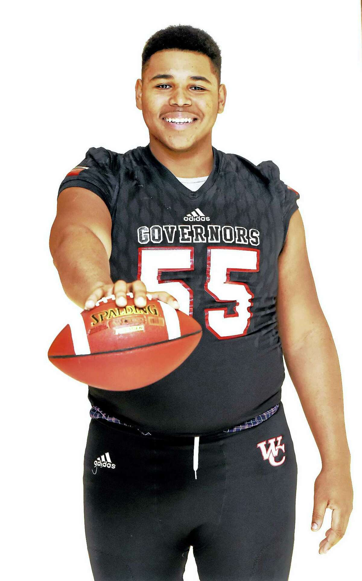 Wilbur Cross lineman Travis Jones has committed to play football at UConn.