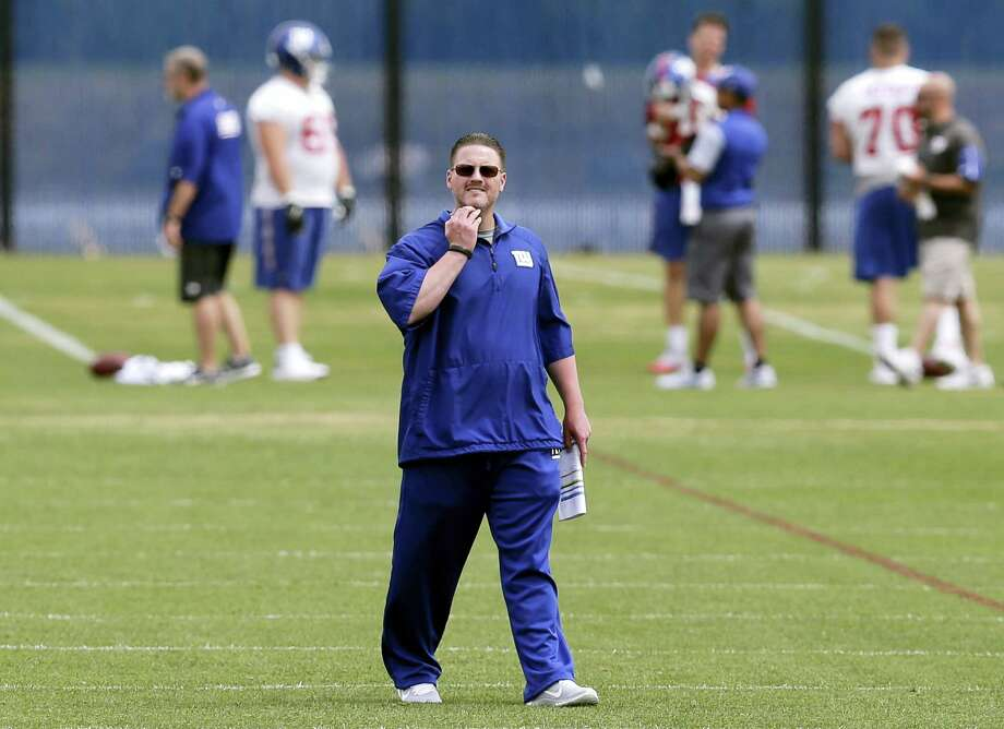 New York Giants head coach Ben McAdoo. Photo: The Associated Press File Photo  / Copyright 2017 The Associated Press. All rights reserved.