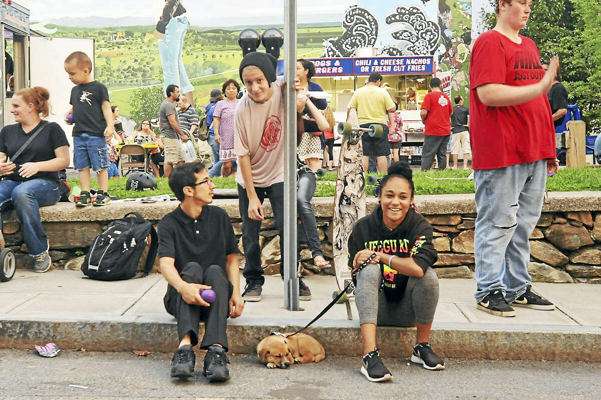 Residents came out for the penultimate edition of the Main Street Marketplace Thursday in Torrington.