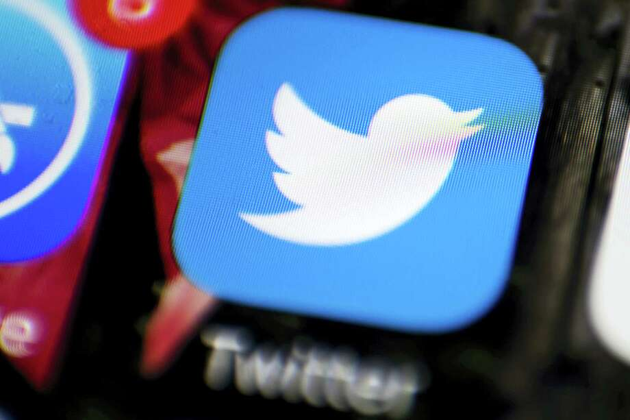 This Wednesday, April 26, 2017, photo shows the Twitter app on a smartphone in Philadelphia. Twitter Inc. reports earnings, Thursday, July 27, 2017. Photo: Matt Rourke / AP Photo  / Copyright 2017 The Associated Press. All rights reserved.
