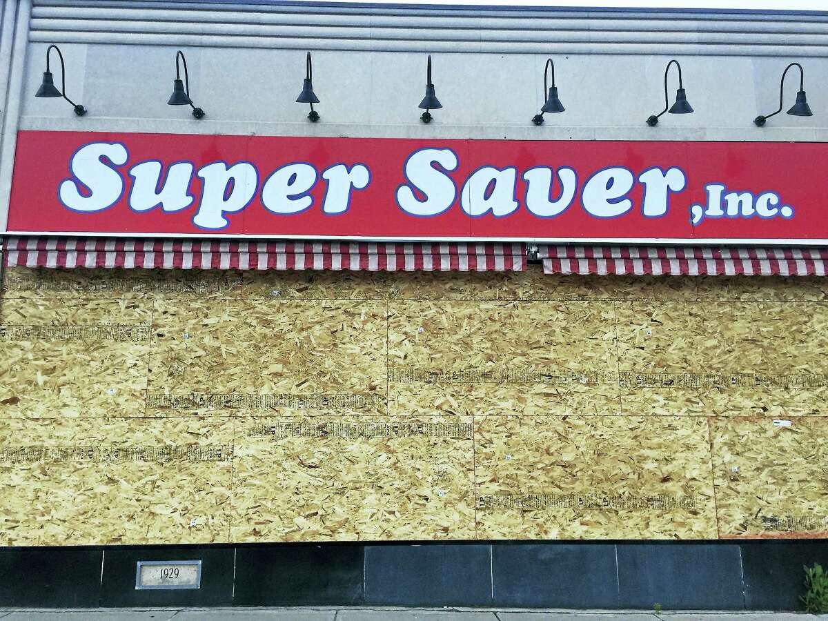 Ben Lambert - The Register Citizen The now-closed Winsted Super Saver, as seen Tuesday.