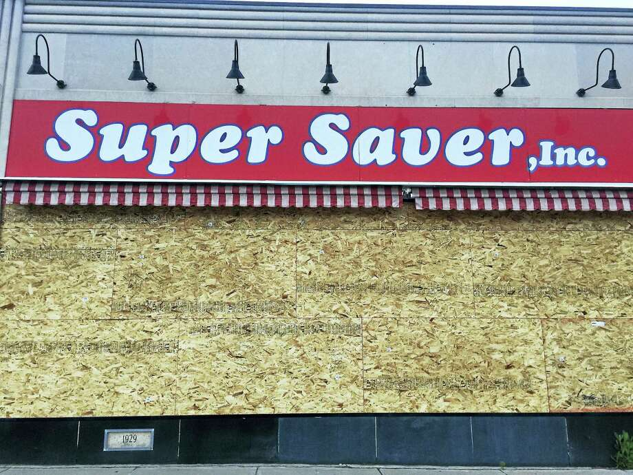 Ben Lambert - The Register Citizen  The now-closed Winsted Super Saver, as seen Tuesday. Photo: Digital First Media