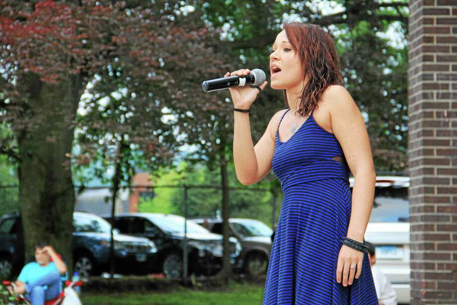 A contestant performs during a semi-final round for Northwest Idol in 2015. The 12th annual singing contest wraps up on Saturday, Aug. 12 at the Warner Theatre in Torrington. Photo: File Photo / Hearst Connecticut Media