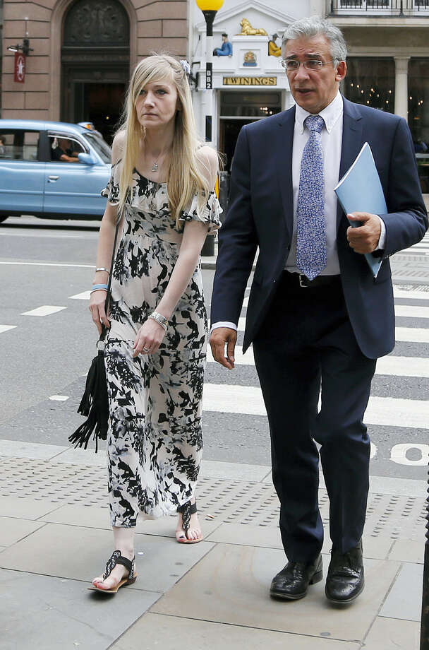 Connie Yates, mother of critically ill baby Charlie Gard arrives at the Royal Court of Justice in London, Tuesday, July 25, 2017. Lawyers for the family of critically ill infant Charlie Gard and the hospital treating him were returning to court for a hearing Tuesday, a day after the baby's parents said they were dropping their long legal battle to get him experimental treatment. The subject of Tuesday's hearing at the High Court in London was not immediately clear. Photo: AP Photo/Frank Augstein   / Copyright 2017 The Associated Press. All rights reserved.