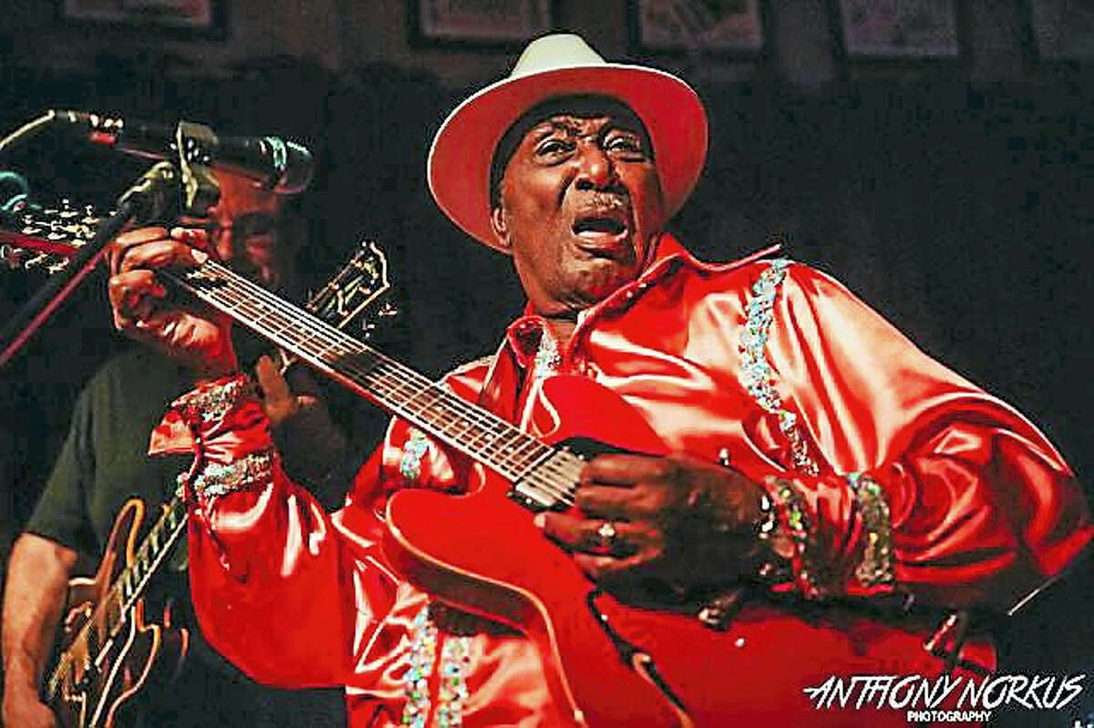 """Eddy """"The Chief"""" Clearwater performs at The Kate in Old Saybrook."""