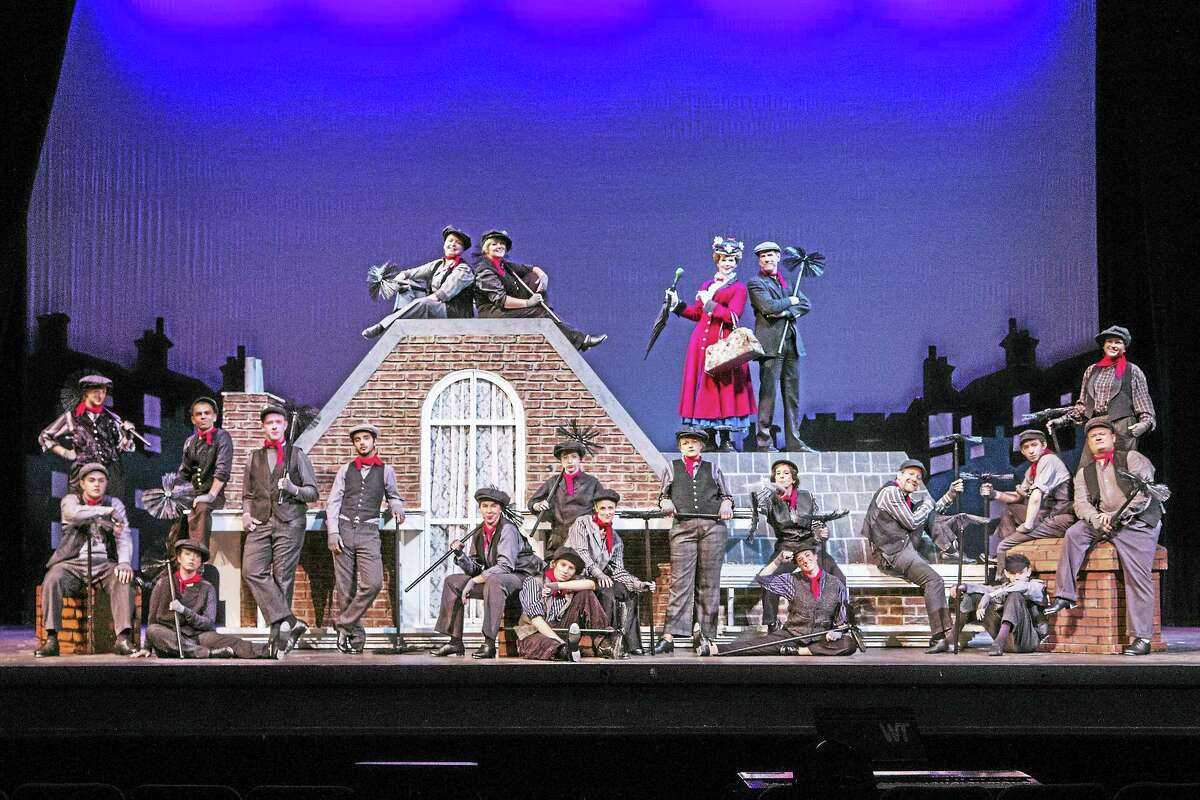 """The Warner Stage Company's production of """"Mary Poppins"""" opens Friday night on the Main Stage at the Warner Theatre."""