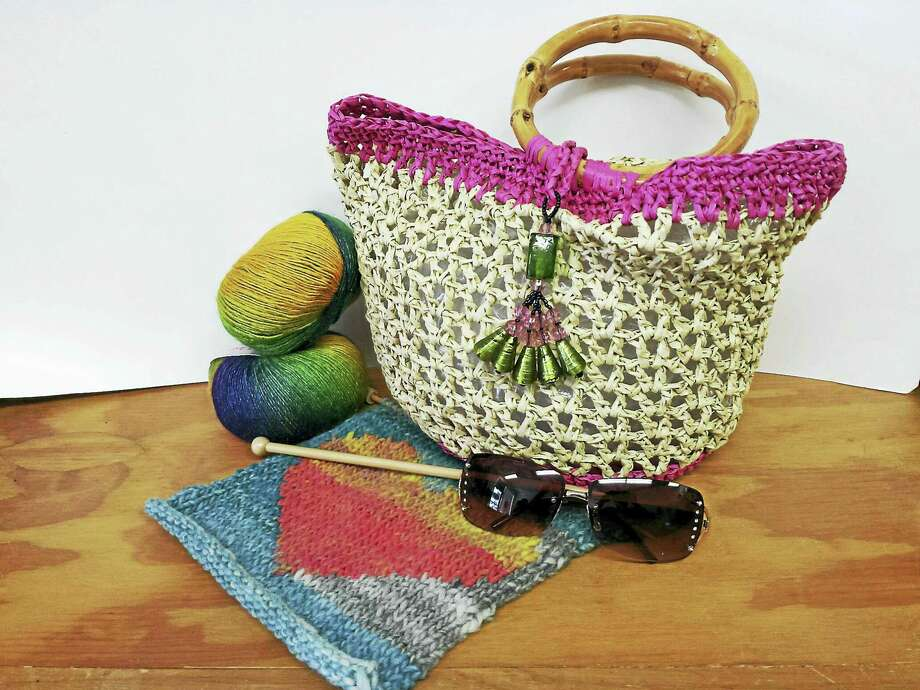 Finding the perfect project to take on a trip is easy if you enjoy knitting or crocheting. Photo: Photo By Ginger Balch