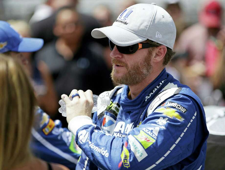 Dale Earnhardt Jr. will join the television crew for NBC next season. Photo: AP Photo — AJ Mast  / FR123854 AP