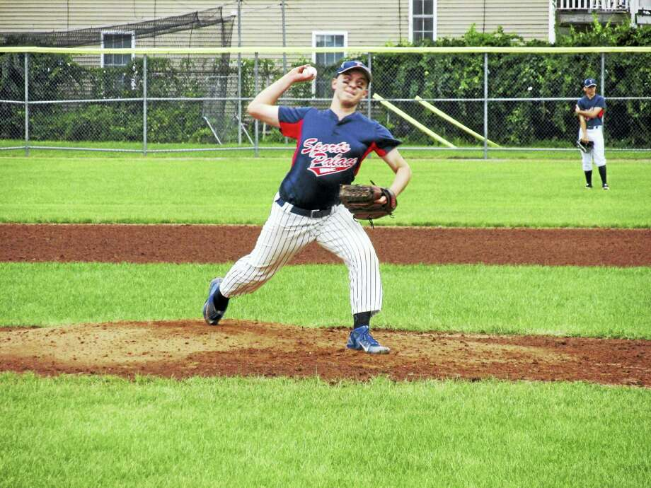D.J. Reynolds went the distance in a Torrington Connie Mack win over Terryville on Monday. Photo: Photo By Peter Wallace