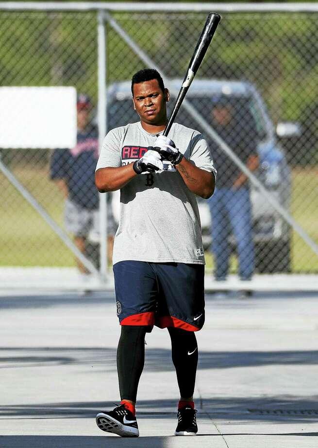 Red Sox third base prospect Rafael Devers. Photo: David Goldman — The Associated Press  / Copyright 2017 The Associated Press. All rights reserved.