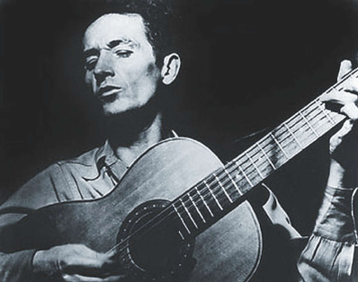 Contributed photo - weekend -Feb. 20, 2002 - Woody Guthrie