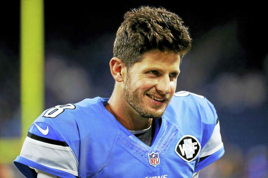 Quarterback Dan Orlovsky has agreed to a one-year deal with the Los Angeles Rams. Photo: The Associated Press File Photo  / FR170444AP