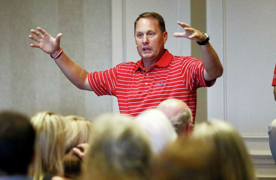 Hugh Freeze resigned as the Mississippi football coach on Thursday. Photo: The Associated Press File Photo  / Copyright 2017 The Associated Press. All rights reserved.