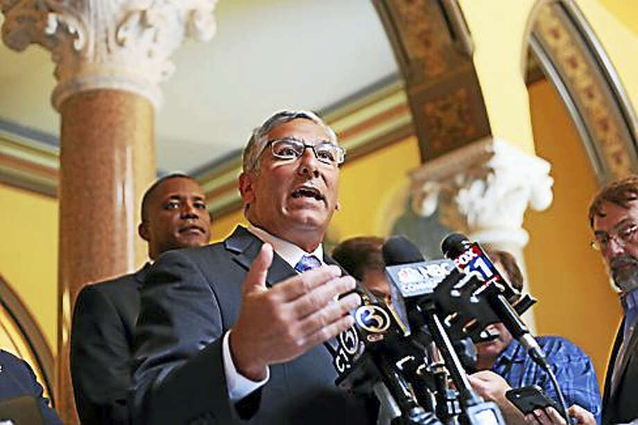 Senate Republican President Len Fasano Photo: Christine Stuart / Ctnewsjunkie