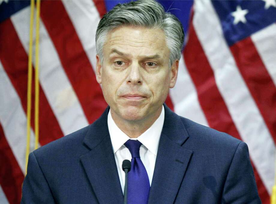 In this Jan. 16, 2012, file photo, former then-Utah Gov. Jon Huntsman speaks in Myrtle Beach, S.C., as he ends his campaign for president. The White House says that President Donald Trump is nominating Huntsman as ambassador to Russia. Photo: AP Photo/Charles Dharapak, File  / Copyright 2017 The Associated Press. All rights reserved.