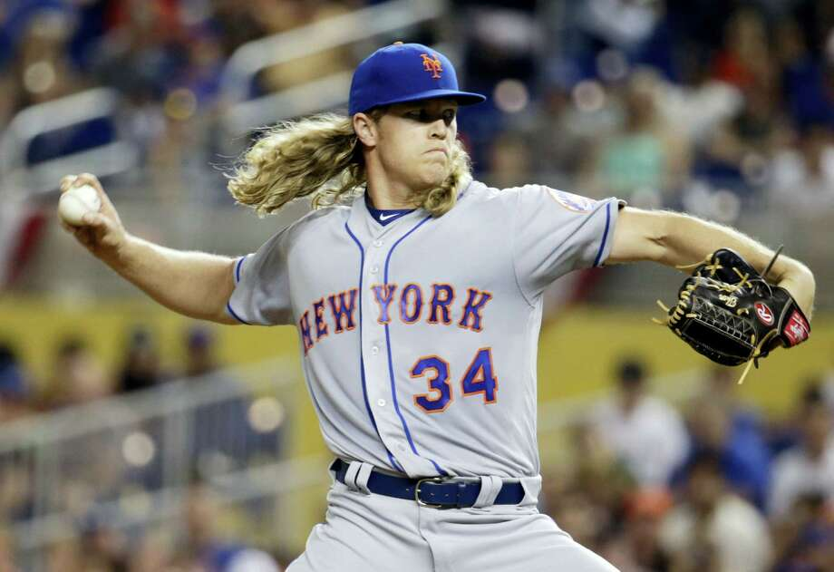 Mets pitcher Noah Syndergaard. Photo: The Associated Press File Photo  / Copyright 2017 The Associated Press. All rights reserved.