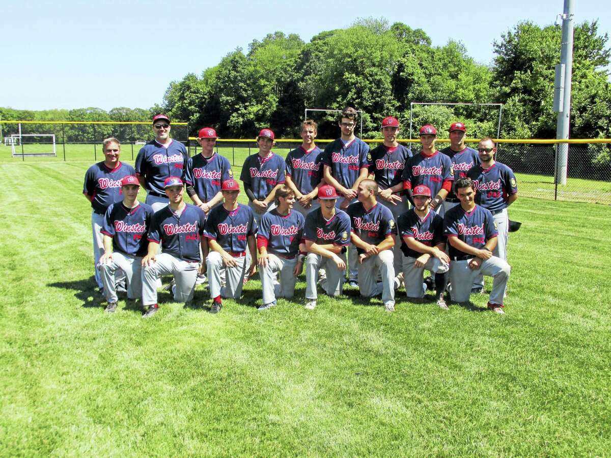 Photo by Peter Wallace Winsted Coach D.J. Reese believes this year's Post 43 American Legion state tournament team is the foundation for a years-long strong tradition.