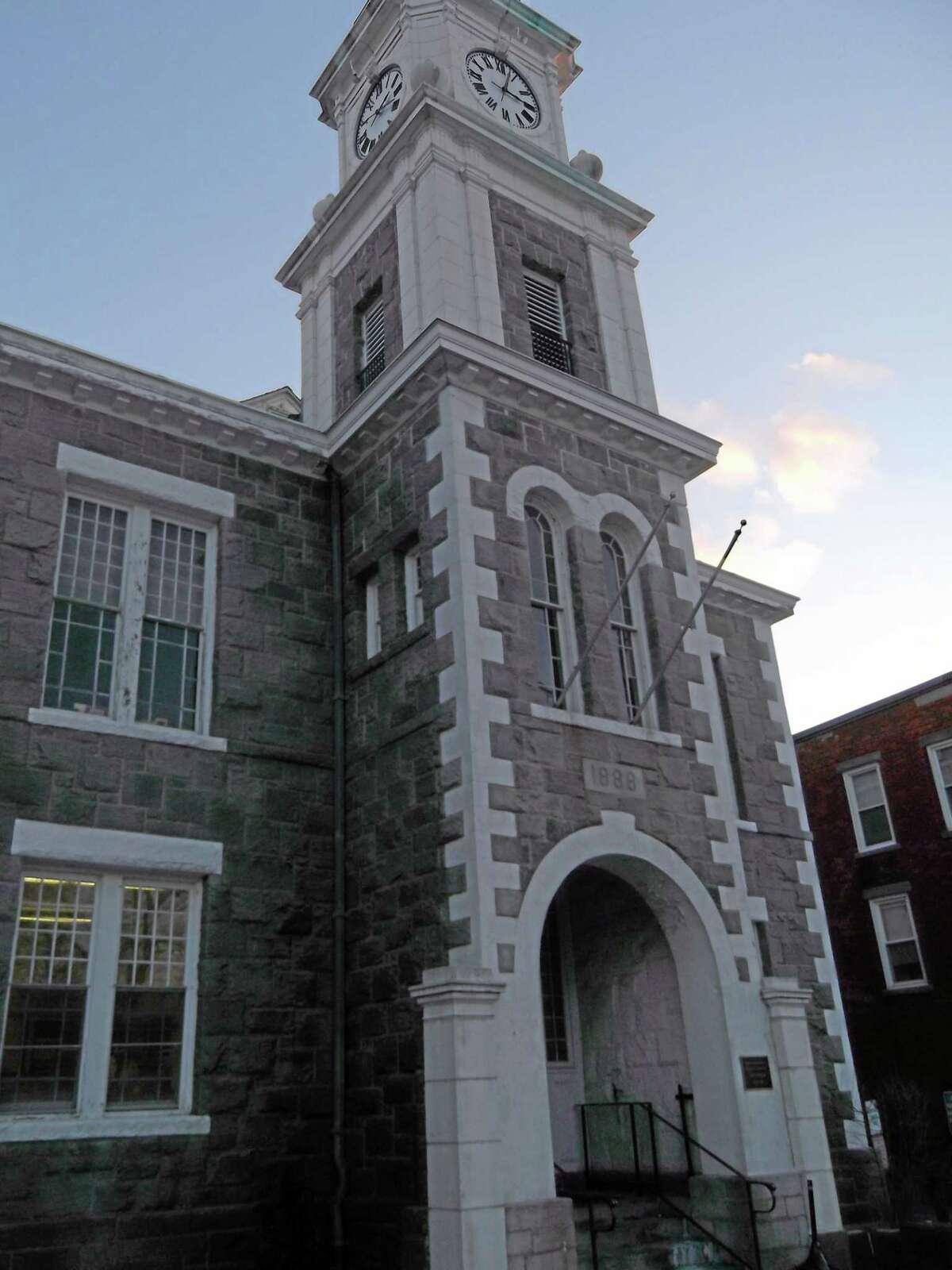 NIKKI TRELEAVEN/The Register Citizen Litchfield Superior Court House.