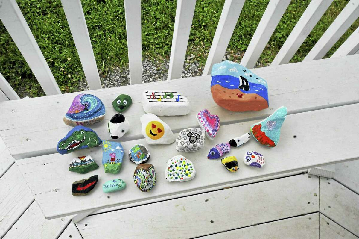 Torrington residents have spent some of the summer painting and hiding rocks, bringing a bit of color and entertainment to those who choose to search for them.