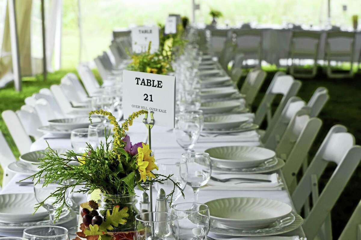 Flanders Nature Center & Land Trust will hold a Farm to Table Dinner & Auction on the grounds of the Van Vleck Farm & Nature Sanctuary in Woodbury on Aug. 27; tickets are now available.