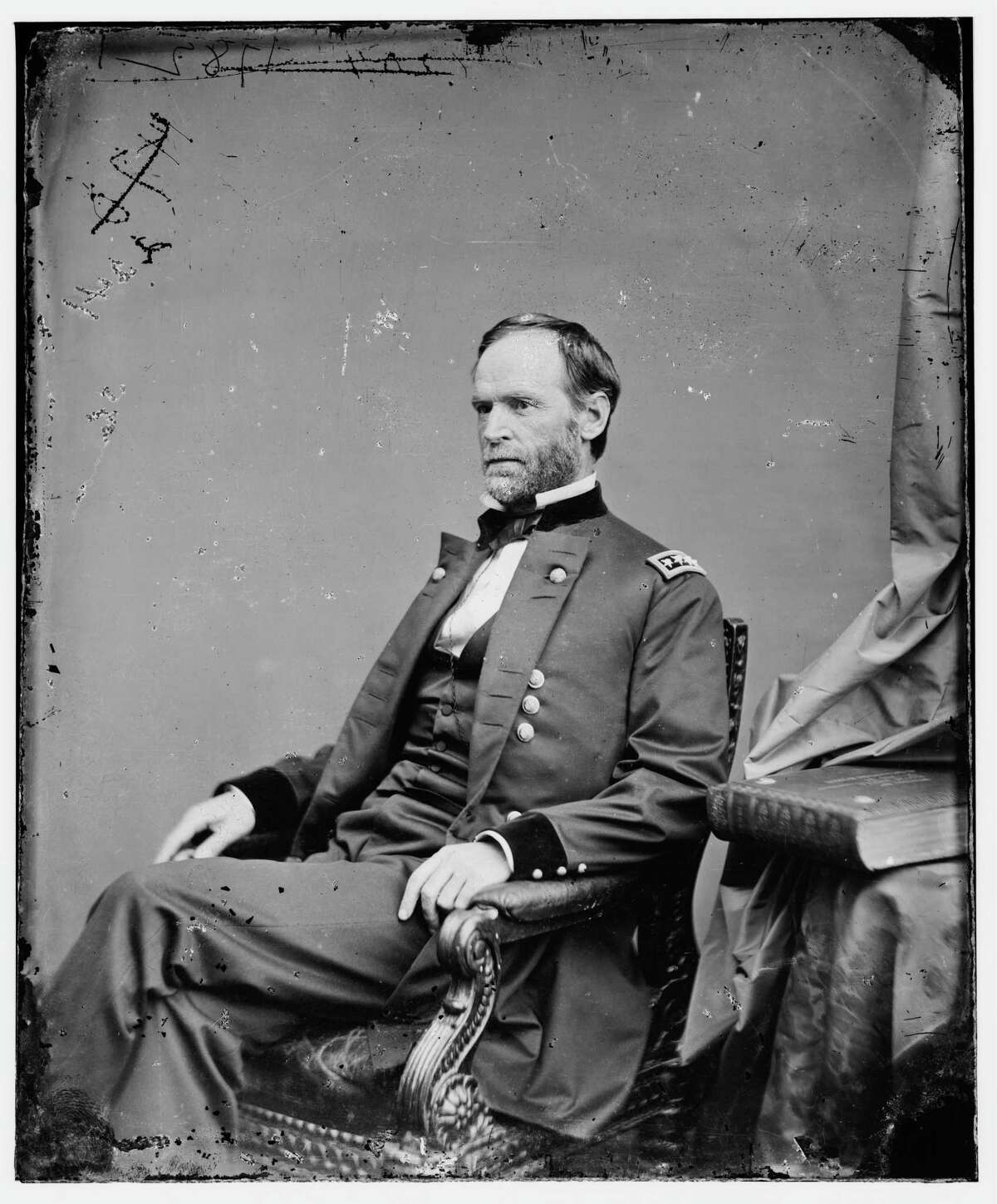 So which Gen. William T. Sherman should we honor - the one (a slaveholder himself) who helped bring the South to its knees with his famous march to the sea, or the one who led what amounted to a war of obliteration on Native Americans so this country could steal their lands?