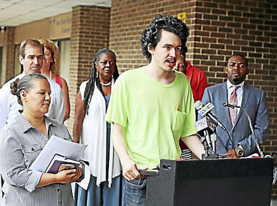 Josh Rosario, a graduate of Bulkeley High School. Photo: Christine Stuart / CTNewsJunkie