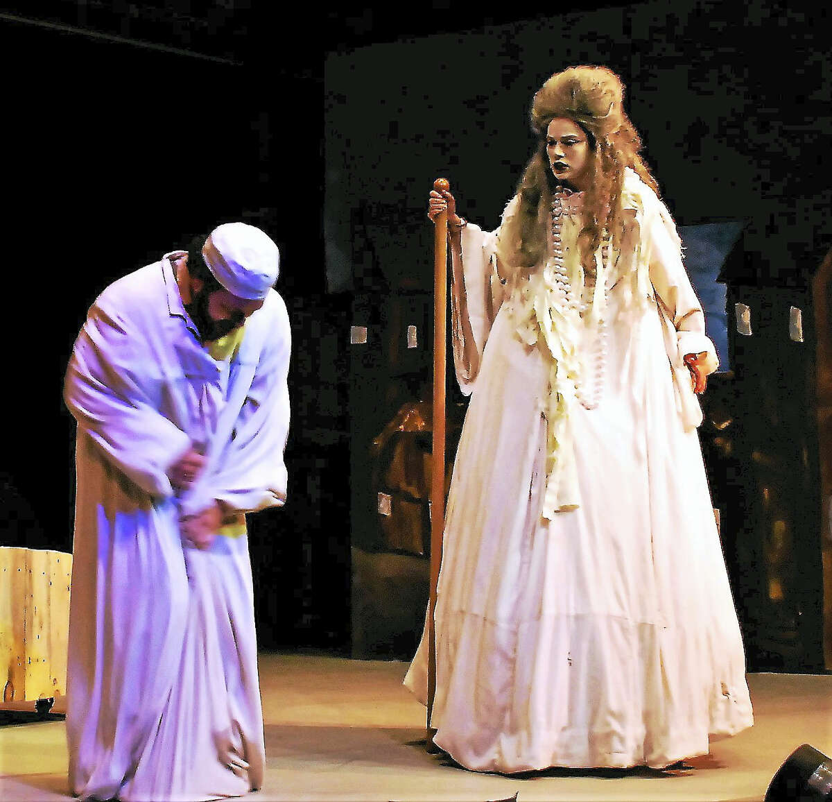 """A scene from the wedding in """"Fiddler on the Roof."""""""