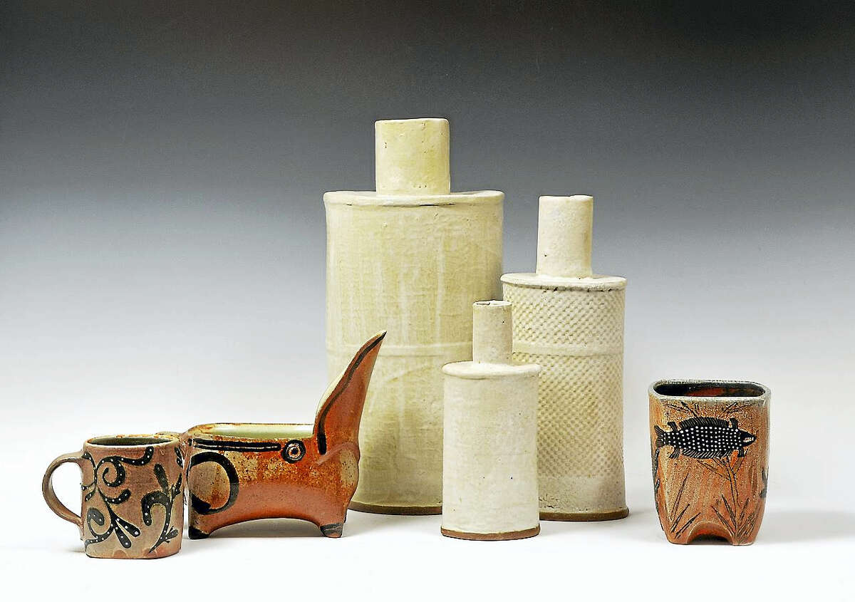 New works by Alison Palmer and Kathy Wismar will be shown July 15-16 at the Alison Palmerr Studio in South Kent.