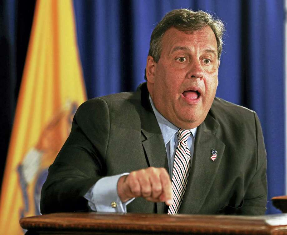 New Jersey Gov. Chris Christie. Photo: The Associated Press File Photo  / FR171525 AP