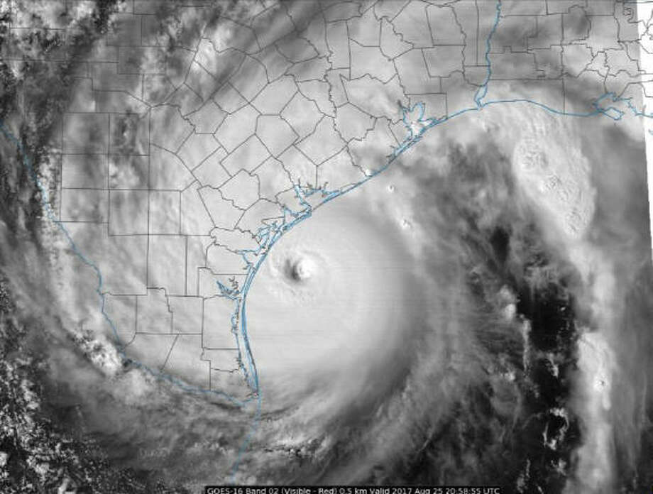 Texas Satellite Weather Map.15 Maps That Explain How Hurricane Harvey Became A Monster Houston