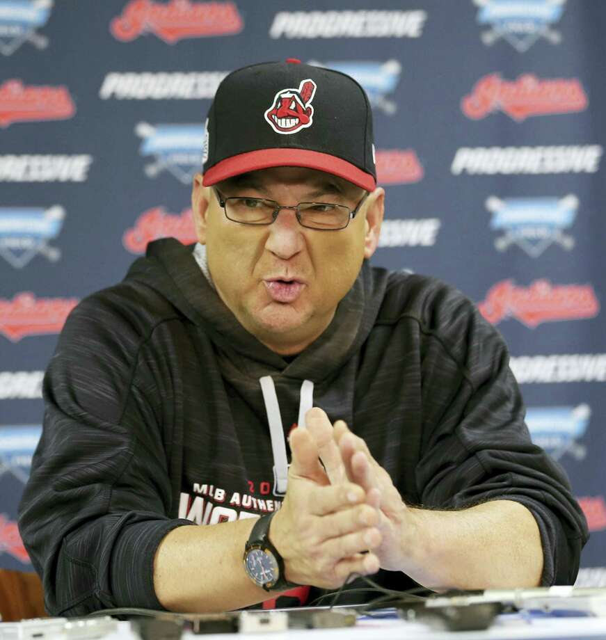 Cleveland Indians manager Terry Francona. Photo: The Associated Press File Photo  / FR171101 AP