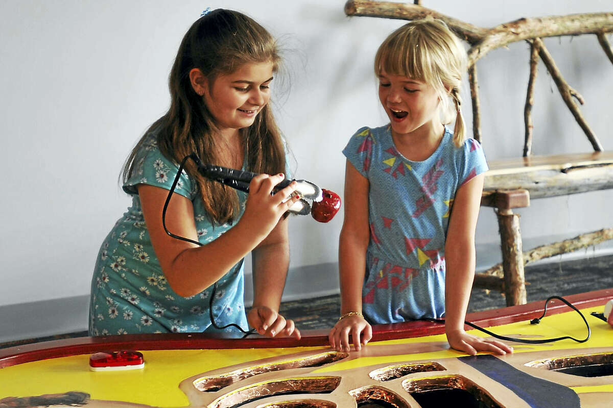 The KidsPlay Children's Museum celebrated the opening of a new gallery Monday evening in Torrington.