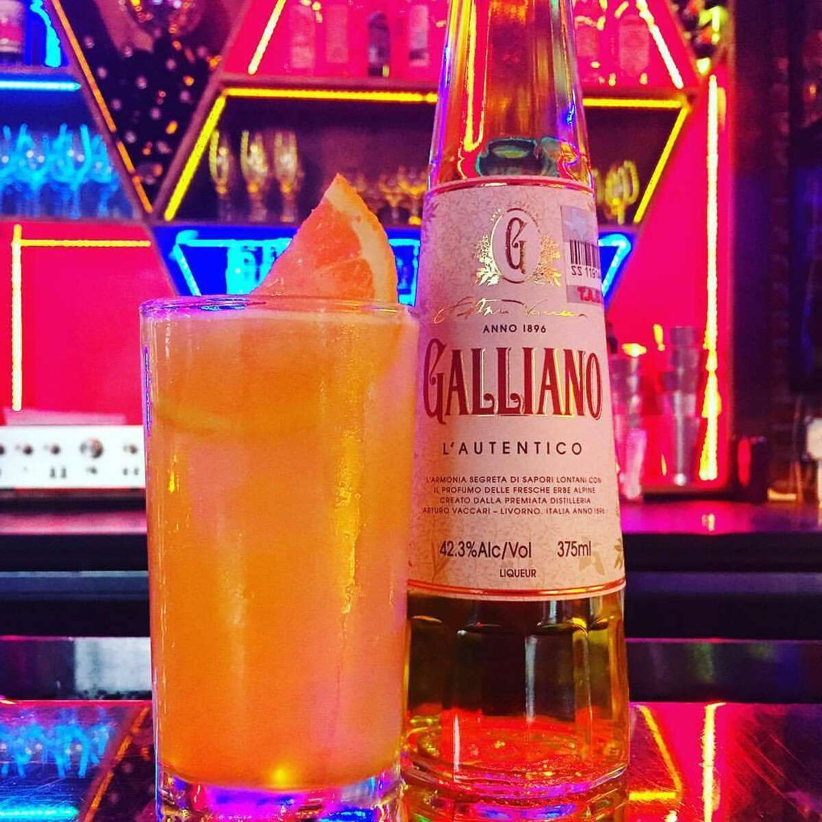 The Harvey Wallbanger is essentially a frat party screwdriver with a dab of European sophistication from the herbaceous Italian liqueur Galliano.