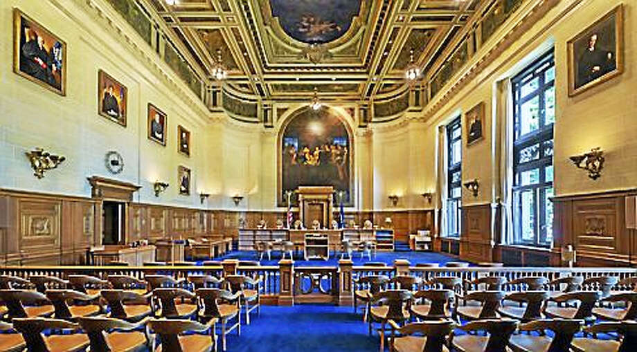 Connecticut Supreme Court, interior Photo: Courtesy Of The Judicial Branch