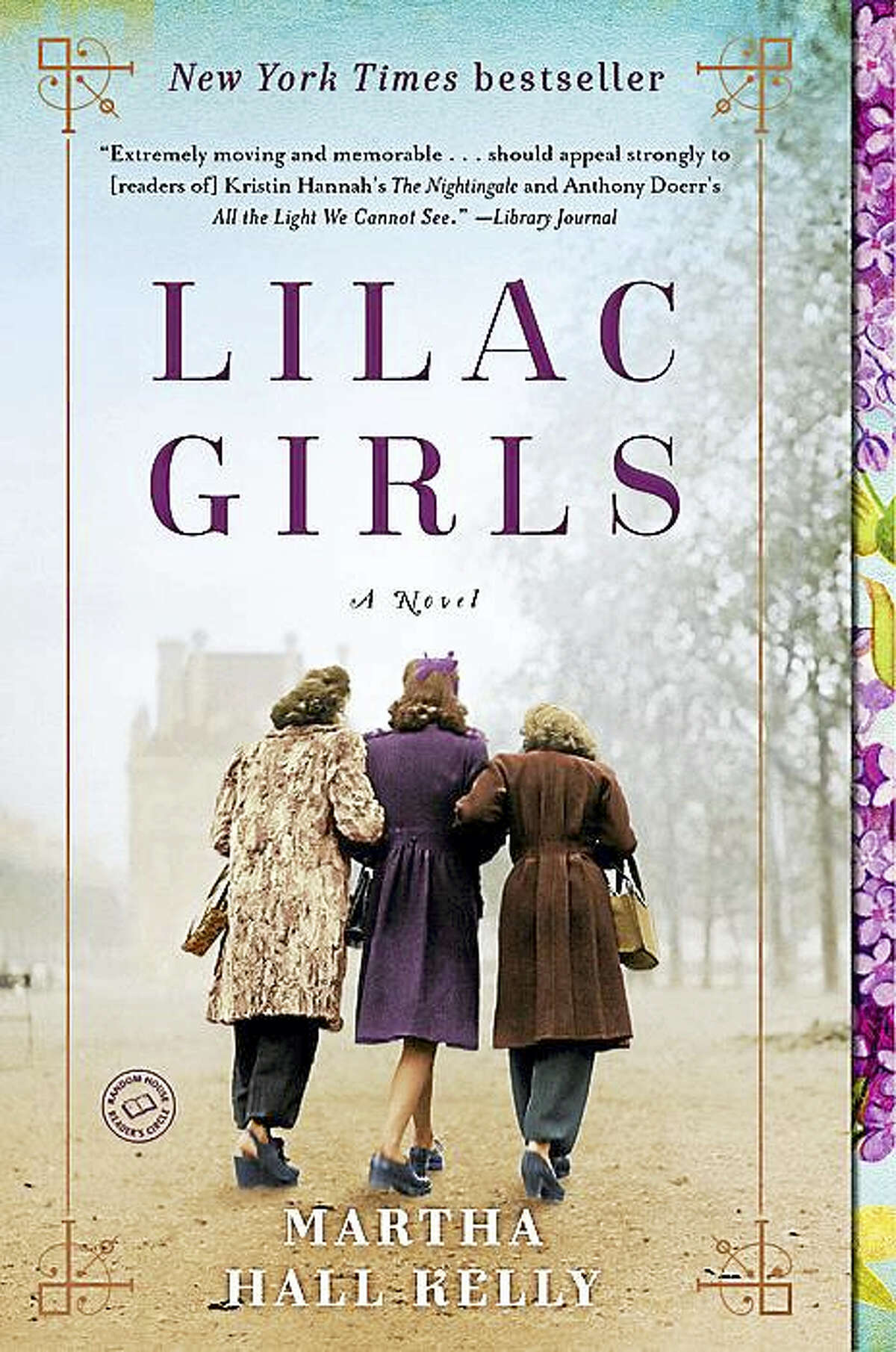 """Martha Hall Kelly will discuss her book, """"Lilac Girls"""" at the Bellamy-Ferriday House & Garden July 15."""