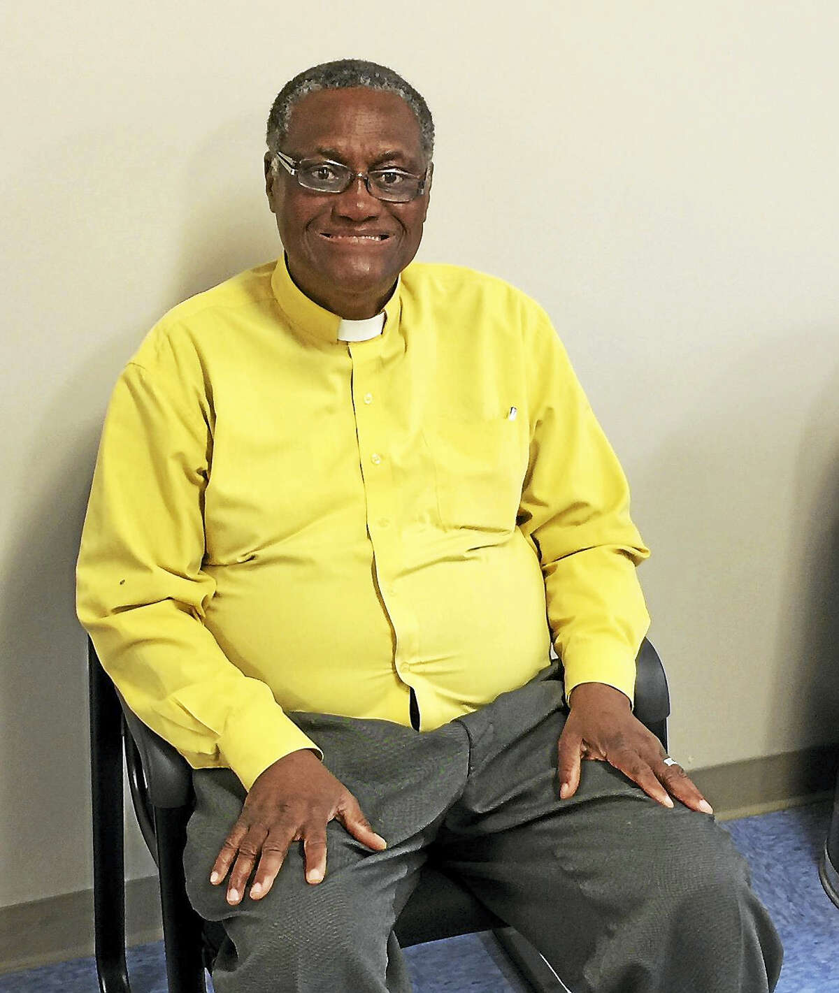 The Rev. Peter Aduba is organizing a campaign to run for mayor of Torrington.