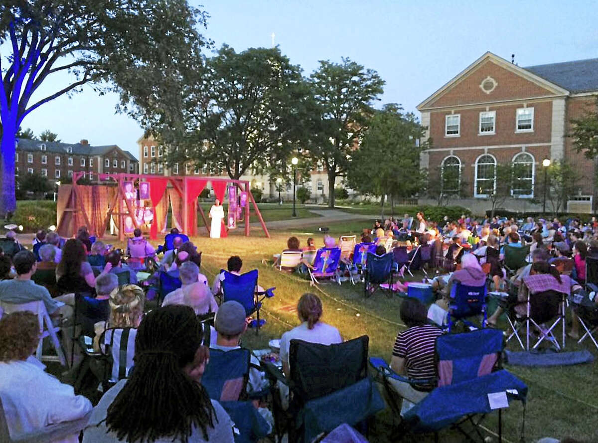 Audiences can enjoy an outdoor theater experience with Capital Classics during the Shakespeare Under the Stars festival in West Hartford.