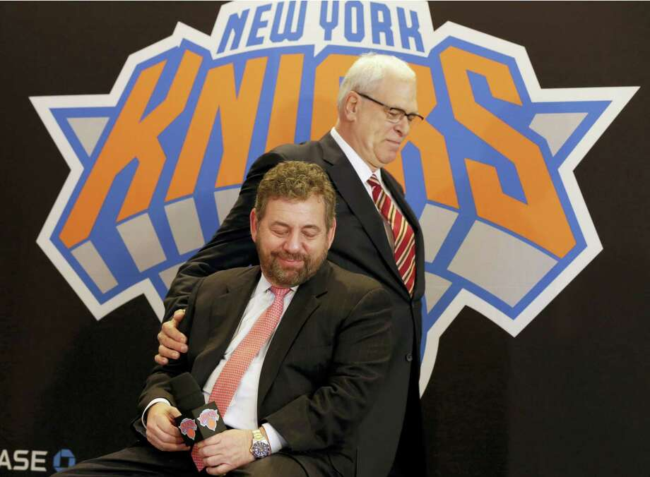 Register columnist Chip Malafronte says Phil Jackson's tenure as Knicks president will go down as a disaster for an organization that's redefined the word. Photo: The Associated Press File Photo  / Copyright 2017 The Associated Press. All rights reserved.
