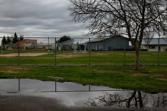 Mary Graham Children's Shelter on a rainy day Feb. 3, 2017 in French Camp, Calif.
