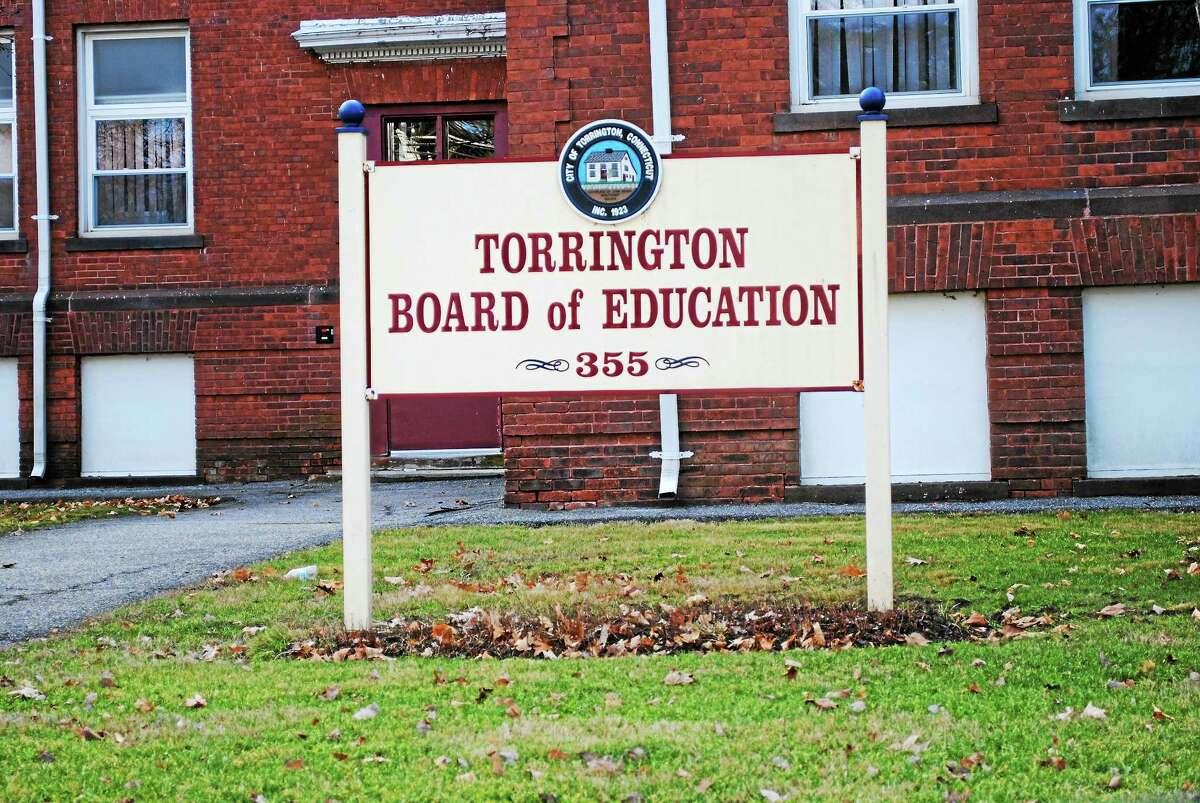 Viktoria Sundqvist - The Register Citizen The Board of Education offices on Migeon Avenue in Torrington.