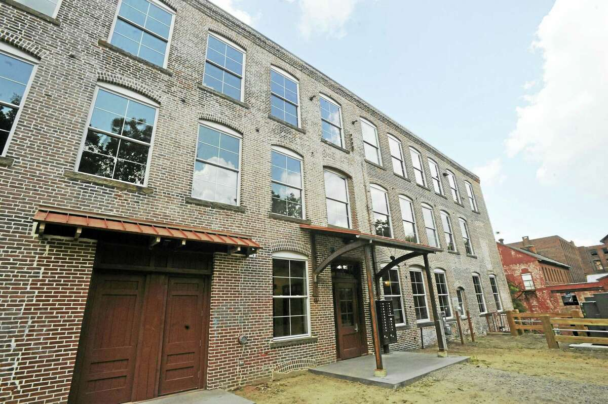 Renovation of the Mad River Lofts, located in the smaller of two mill buildings at 10 Bridge Street in Winsted, is nearly complete. Its owners envision a community of tenants in the spaces.