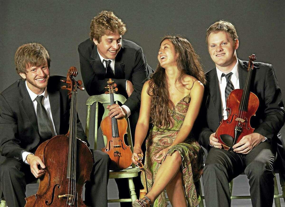 The Aeolus Quartet performs Sunday at Music Mountain.
