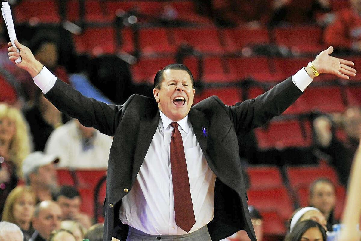 Georgia head coach Andy Landers.