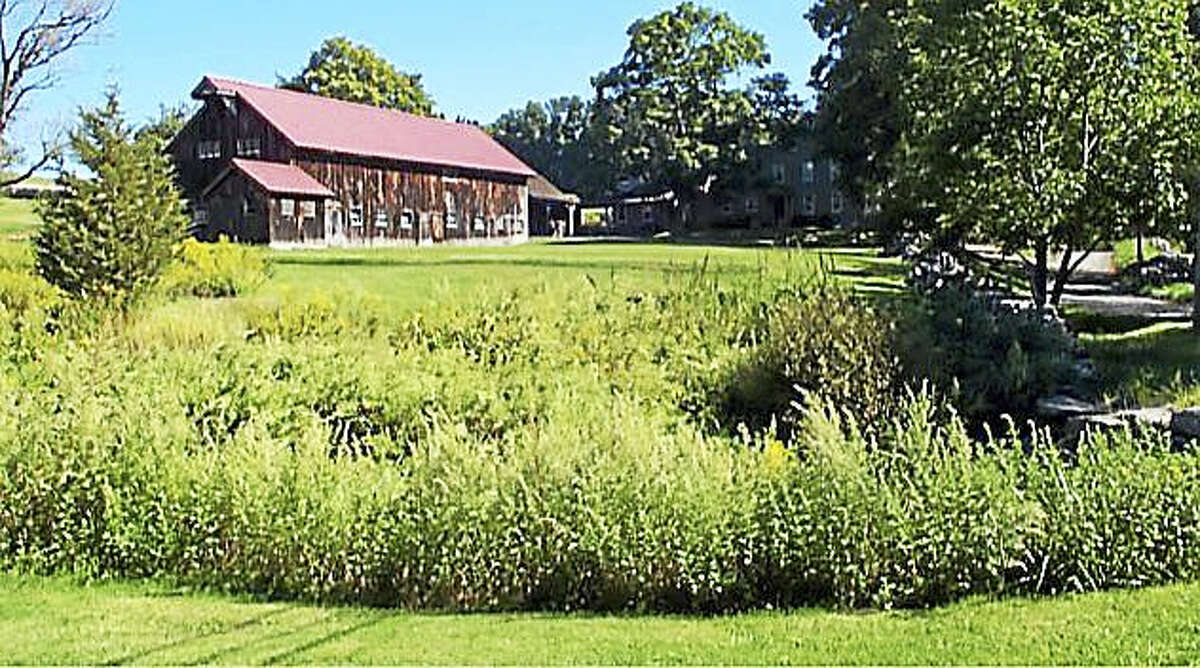 A historic barn at Triple Creek Farm in New Milford that was included in a preservation agreement with the state.