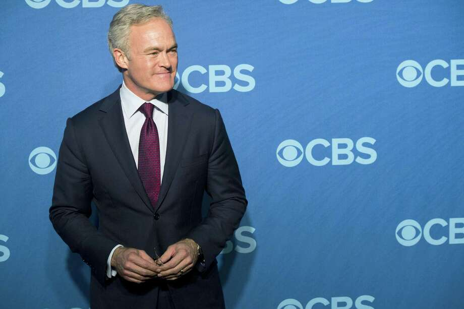 "In this May 15, 2013, file photo, Scott Pelley attends the CBS Upfront in New York. Pelley is out as ""CBS Evening News"" anchor, and he'll be returning to full-time work at the network's flagship newsmagazine ""60 Minutes."" Two people familiar with the situation on Wednesday, May 31, 2017, confirmed the reports. Photo: Charles Sykes/Invision/AP, File   / AP2013"