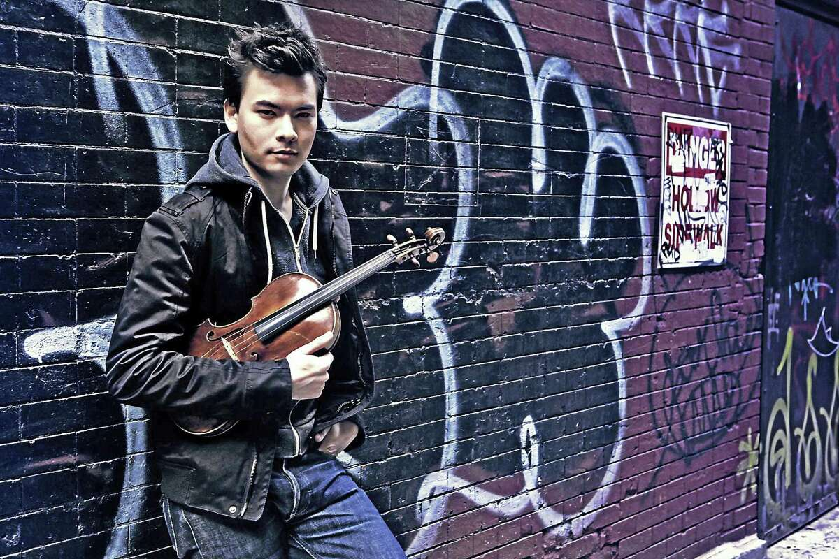 Violinist Stefan Jackiw joins Peter Serkin in the season's opening concert at Music Mountain on Sunday, June 11.
