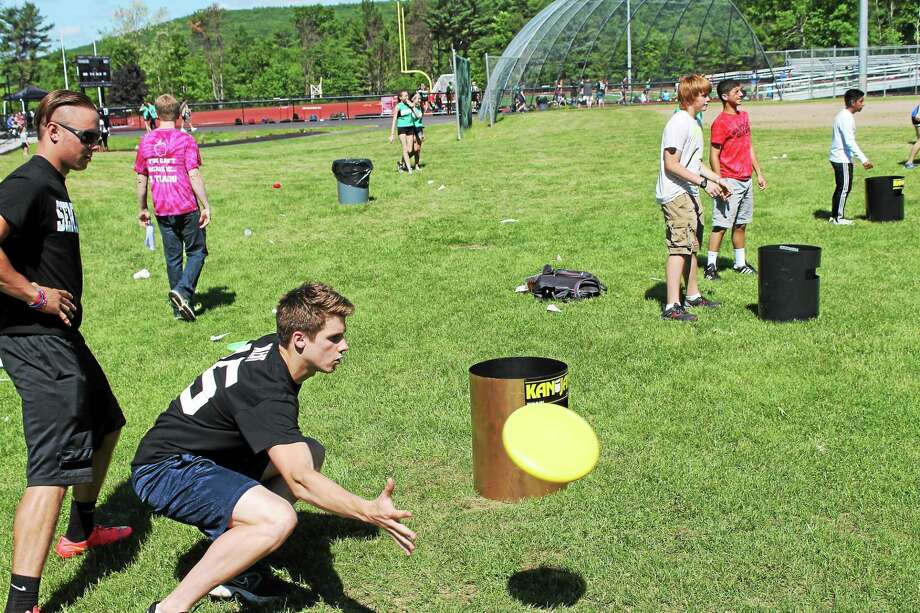 Students at Torrington High School helped their community through a Raiders Rally, which raised more than $16,000 for local charities in 2015. This year's rally is set for Friday. Photo: Register Citizen File Photo