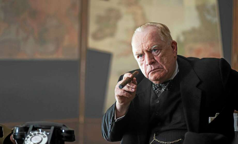 """Brian Cox portrays British Prime Minister Winston Churchill in """"Churchill,"""" which is set in the days leading up to D-Day. Photo: Cohen Media Group  / ©Salon Churchill Ltd?"""