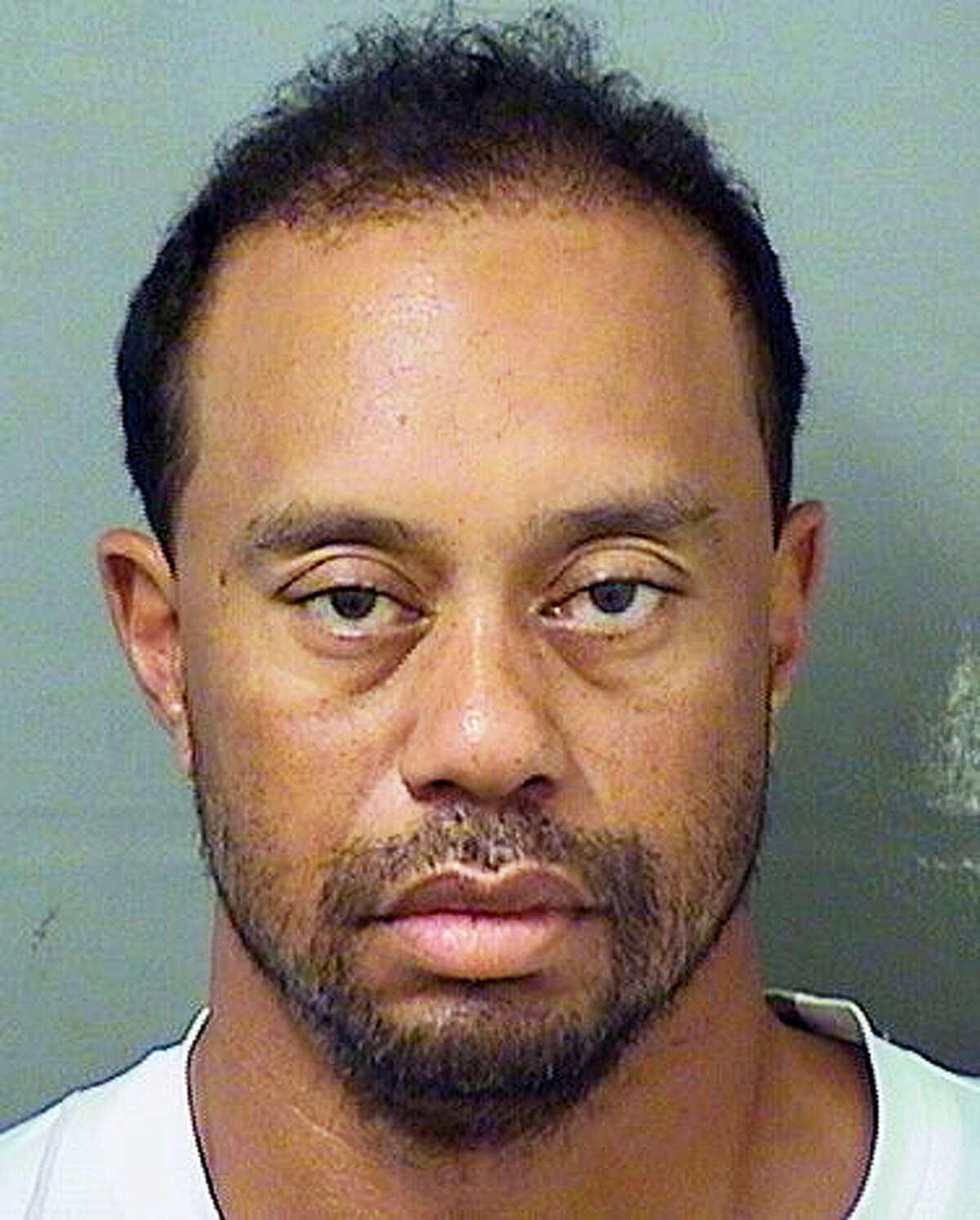 This image provided by the Palm Beach County Sheriff's Office on May 29, 2017 shows Tiger Woods. Police in Florida say Tiger Woods has been arrested for DUI. The Palm Beach County Sheriff's Office says on its website that the golf great was arrested Monday and booked at about 7 a.m.