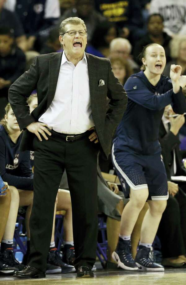 UConn head coach Geno Auriemma. Photo: The Associated Press File Photo  / Copyright 2017 The Associated Press. All rights reserved.